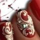 Monogrammen op nagels maken: stapsgewijze instructies en nuttige aanbevelingen