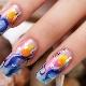 Stijlvolle ideeën manicure met dolfijnen