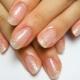 Opties voor transparante manicure voor modeontwerp