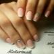 Matte French Manicure Design Ideas