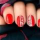 Interessante ideer for å bruke rød gel polish