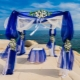 How to arrange a wedding in blue?