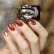 Manicure met folie: interessante ontwerpideeën en -technieken