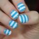 Gestreepte manicure: decorideeën en ontwerptips