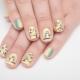 Stijlvolle ontwerpideeën manicure met uilen