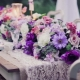 Wedding in purple colors: the meaning of color and recommendations for the design of the celebration