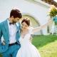 Bruiloft in blauw