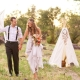 Wedding in boho style: description and interesting ideas