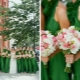 Wedding in green: the meaning of shade and options for the design of the celebration