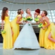 Wedding in yellow and orange colors: features and ways of registration