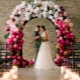 Wedding arch of balloons: design options and how to create their own hands
