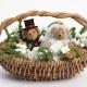 Esküvői kosarak: típusok, tippek a készítéshez és díszítéshez