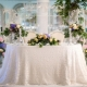 DIY bruiloft tafeldecoratie
