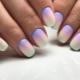 Varianten van stijlvolle design manicure met ombre effect