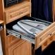 Ingebouwde strijkplanken: kenmerken en variëteiten