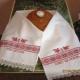 Het kiezen van handdoek voor bruilofts brood