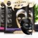 Zwart stoffen masker op het gezicht: eigenschappen en gebruiksvoorschriften