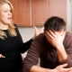 What should a husband do if he is humiliated by a wife?