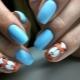 Ontwerp met dierlijke manicure