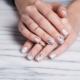 Ideas light manicure for short nails