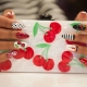 Manicure met fruit: ontwerp en stapsgewijze uitvoering