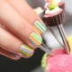 Manicure design for girls up to 9-12 years