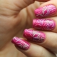 Manicure design ideas for medium length nails