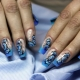 Drawings on nails: technology, trends and design