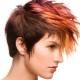 Corte de cabelo Gavrosh para cabelos curtos