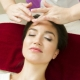 Technique of classic face massage