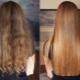 Keratin navrácení vlasů doma
