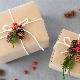 Joululahjapaketti: alkuperäiset ideat