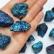 Calcopirite: proprietà e colori del minerale, origine e applicazione