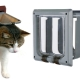 Types and selection of doors for cats