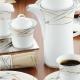 Koffiesets: types, overzicht van fabrikanten en kenmerken naar keuze