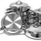 Metalen schalen: soorten en kenmerken naar keuze