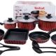 Tefal gerechten: een verscheidenheid aan modellen
