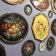 Zhostovo-trays: geschiedenis en functies