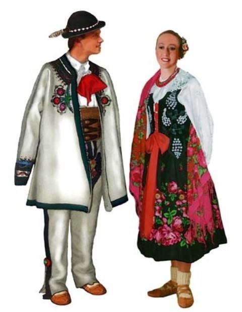 Polnische Nationaltracht (30 Fotos): Trachten für Damen