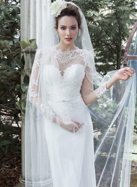 Dekoratív esküvői fűző