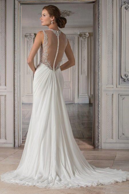 Esküvői ruha hálóval