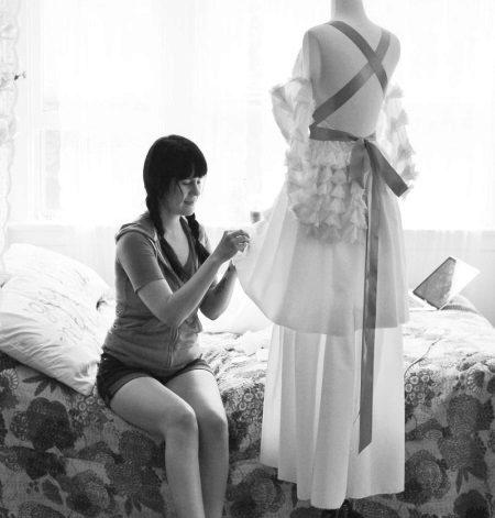 Esküvői ruha varrása