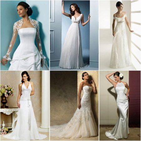 Esküvői ruhák modelljei