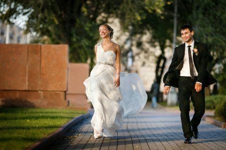 Esküvői ruha, amely kényelmes