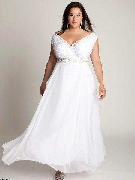 Vestit de núvia per al ple estil grec