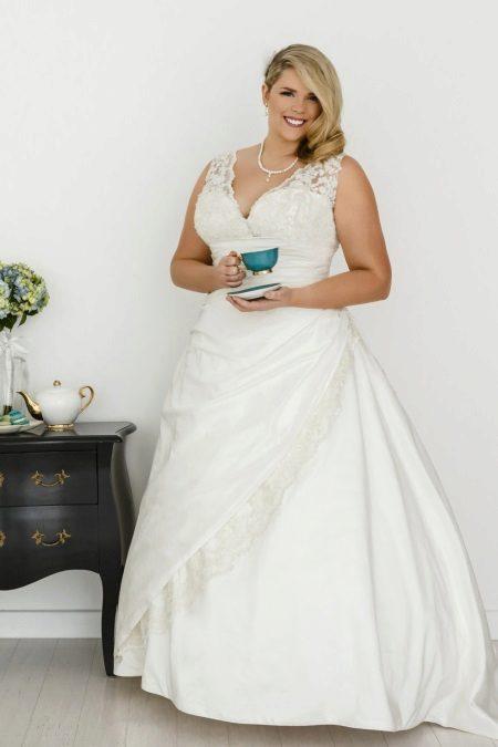 Vestit de núvia per a núvies completes