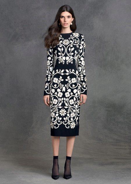 Aftenkjole fra Dolce & Gabbana midi