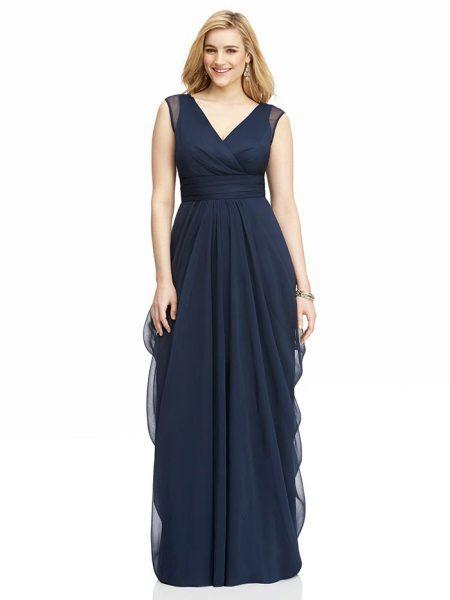 Schede jurk avond voor vol