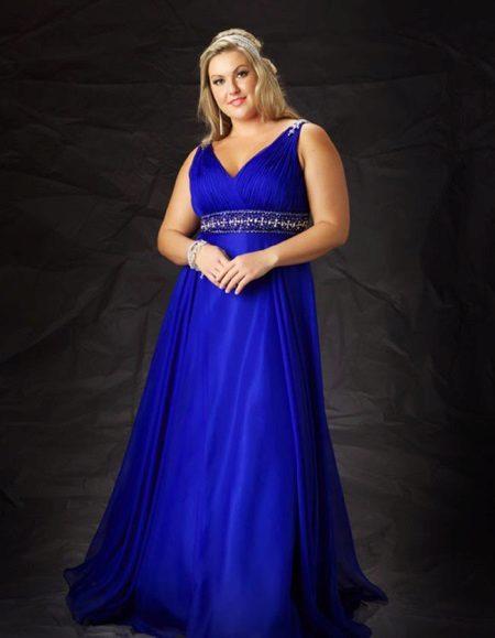Vestit de nit blau complet