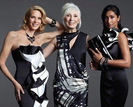 Vestidos de noite com folho para as mulheres 50 anos